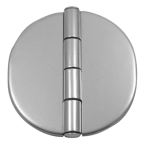 Stainless Steel Covered Hinge Rounded