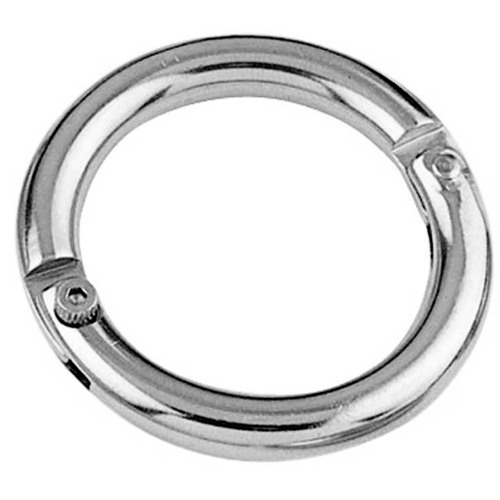 Stainless Steel Two Part Ring With Screw