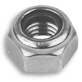 Hex nut nylon insert DIN985