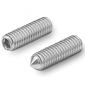hex.socket set screws cone point DIN 914