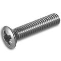 Pozi raised countersunk machine screw DIN966Z