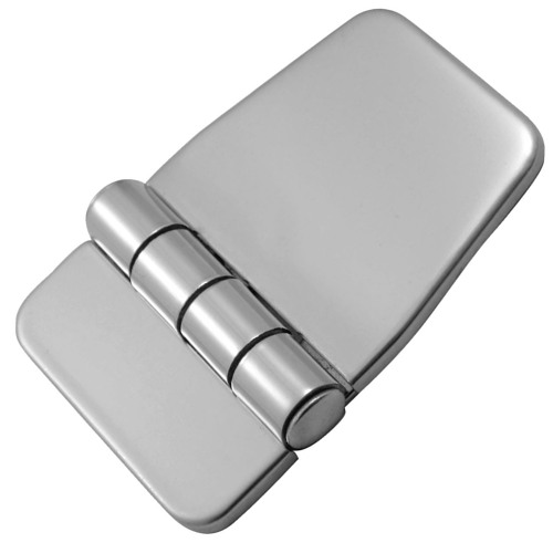 Stainless Steel Covered Hinge Short Side