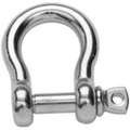 Stainless steel Bow Shackle - Forged