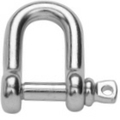 Stainless steel Dee Shackle - Forged