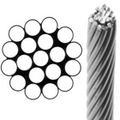 Stainless steel Wire Rope 1x19