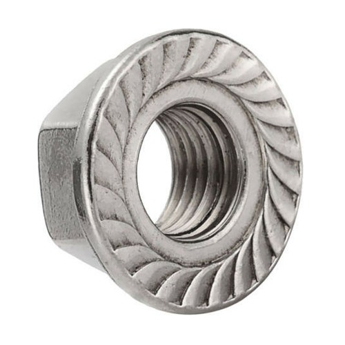 Solar Serrated Flanged Nut